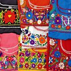 Внешний вид - Puebla Mexican Hippie Peasant Vintage Embroidered Blouse Top Assorted Colors