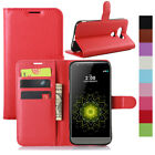 Luxury Flip PU Leather Magnetic Kickstand Wallet Case Cover For LG Accessories