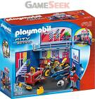 PLAYMOBIL 6157 MY SECRET MOTORCYCLE WORKSHOP PLAY BOX - DOLLS AND PLAYSETS NEW