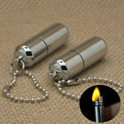 Emergency Gear Fire Stash Waterproof Mini Survival Lighter Camping Pocket Tool