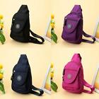 Women's Waterproof Sling Bag Messenger Backpack Fanny Pack Chest Bag J9G2