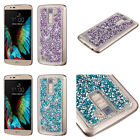 Crystal Diamond Rhine stone Studded Style Cover Protector Phone Case For LG K10