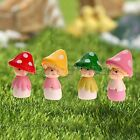 Cute Mushroom Doll Fairy Garden Miniature Figurine Craft Ornament Decor DIY Hot