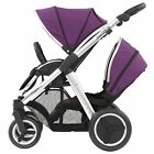 BabyStyle Oyster Max Tandem Pushchair And Colour Pack - Mirror Chassis
