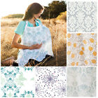 New Nursing Cover Breastfeeding Cover Baby Infant Breathable Cotton Muslin
