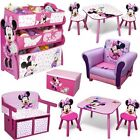 Minnie Maus Holz Kindermöbel Deko Kinderzimmer Minni Mouse Möbel Regal Kiste Box