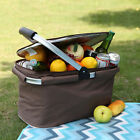 Yodo Insulated Picnic Basket 22L Large Collapsible Cooler Bag Shopping Beach NEW