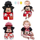 New baby girl boy Mickey Mouse/Minnie Mouse Party romper costume size 6M-24M