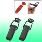 "Aviation Case Toolbox 3.5"" Metal Pull Down Draw Latch Black 2pcs"
