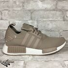 ADIDAS NMD R1 PK TAN GRAY FRENCH BEIGE S81848 PRIMEKNIT NOMAD KNIT BOOST Size 8