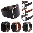 Large Size Replacement Leather Watch Strap Band For Samsung Gear S SM-R750