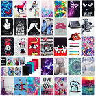 For Sprint Slate 10 Inch (AQT100)4G LTE Tablet HOT Pattern PU Leather Stand Case