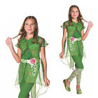 Rubies Official DC Comics Superhero Girls Deluxe Poison Ivy Fancy Dress Costume