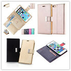 Flip out Leather Card Holder Stand Wallet Soft Case Cover For Verious Chamber Phones