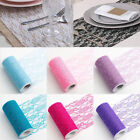 Fashion Lace Roll 15cm x 22M Wedding Chair Sash Floral Venue Decor Table Runner