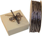 3mm wide irridescent pull bow ribbon 25 metre rolls ~ Wedding & Party Favours