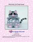 Kitty Cat Treat Holder- Plastic Canvas Pattern or Kit