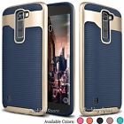 For LG K7 Tribute 5 Hybrid Shockproof Case Rugged Rubber Protective Hard Cover