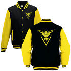 Team Instinct Varsity Jacket - Cool Pokemon GO Nerd Gift Fan Kids Adults College