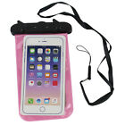 Waterproof Underwater Case Cover Bag Dry Pouch For iPhone Samsung Cell Phone
