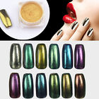All Colors Shinning Mirror Glitter Effect Powder Nail Art Sequins Chrome Pigment