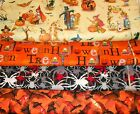 HALLOWEEN #1 FABRICS Sold INDIVIDUALLY NOT AS A GROUP By the HALF YARD