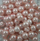 Free shipping 4mm/6mm/8mm/10mmGlass Pearl Round Spacer Loose Beads