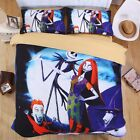 3D Halloween Christmas Bed Pillowcase Duvet Cover Set Single Double King Size