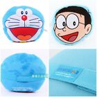 JAPAN DORAEMON NOBITA MINI CAR SEAT CUSHION W/ ELASTIC BAND