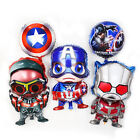 Avengers Marvel Super Heroes Foil Balloon Kids Boy Party Favor Supply Props Gift
