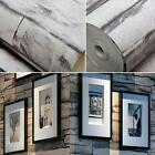 3D Vintage Wallpaper Removable Faux Stone Brick Wall Pattern Background M4V0