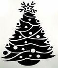 Christmas Tree Holiday Car Truck Window Laptop Vinyl Decal Sticker 10 Colors