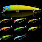 9.5cm/8g Hard Minnow Fsihing Lures Bait Crankbait Hooks Tackle Bass Wobbler