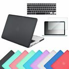 """Rubberized Hard Case Shell +Keyboard Cover for Macbook Pro 13/15"""" Retina Air 13"""""""