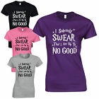 I Solemnly Swear That I Am Up To No Good Ladies Fitted T-Shirt Harry Potter Gift