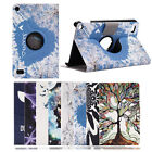 New Leather Stand Painted Cover Case For Amazon New Kindle 2016 Kindle Fire7