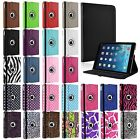 New 360 Rotating PU Leather Case For Apple iPad Air Folio Cover Stand
