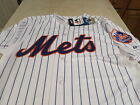 NWT NEW YORK METS MAJESTIC  AUTHENTIC  JERSEY Size 44  [large] Free s/h