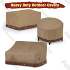 Waterproof Patio Furniture Cover Outdoor Table Chairs Bench Sofa Air Conditioner