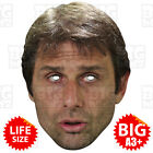 ANTONIO CONTE BIG A3 Face Mask or Life-size FC Manager Chelsea Juventus