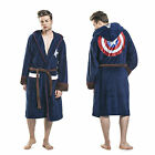 Groovy Adults Official Marvel Captain America Civil War Dressing Gown Bathrobe