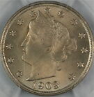 1903 Liberty Nickel Coin, PCGS MS-64