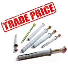 TRADE PRICE HAMMER FIXING SCREWS & NYLON SLEEVE, FOR CONCRETE MASONRY 12 LENGTHS
