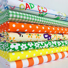 My little Family Polycotton Fabric Per 1/2 Metre & 7 Fat Quarter Bundle