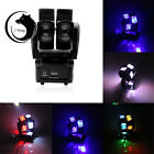 120W RGBW Lights Effect DMX512 Revolve Style 8-LED Stage Lighting 4-in-1 16/23CH