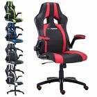 GTFORCE ROADSTER 2 SPORT RACING CAR OFFICE CHAIR LEATHER, ADJUSTABLE GAMING DESK