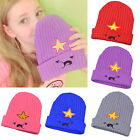 Fashion Womens Embroidered Beanie Winter Warm Crochet Hat Slouch Baggy Beret Cap