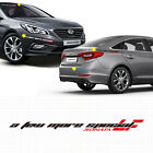 Decal Racing Slogan Sticker Large Size 1p For 2015 2016 Hyundai Sonata LF SONATA