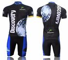 2016 Discovery Cycling Clothing Bicycle Short Sleeve Jersey & Pant/Short GEL Pad