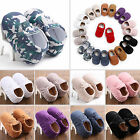 Baby Fashion Soft Sole Leather Shoes Toddler Infant Boy Girl Tassel Moccasin